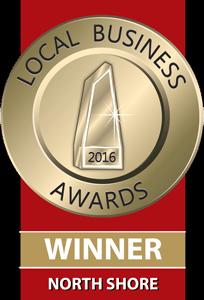 Local Business Awards Winner - North Shore