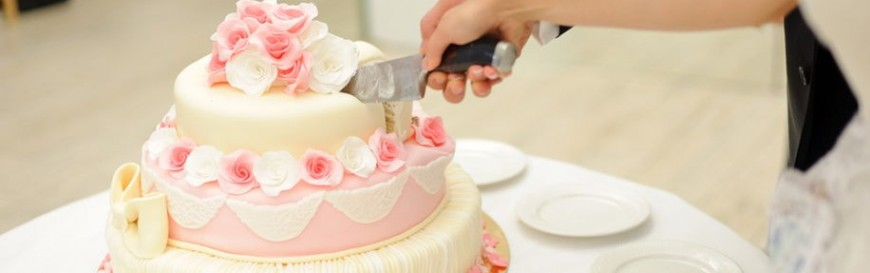 cutting a wedding cake tips on how to cut a birthday or wedding cake 13284