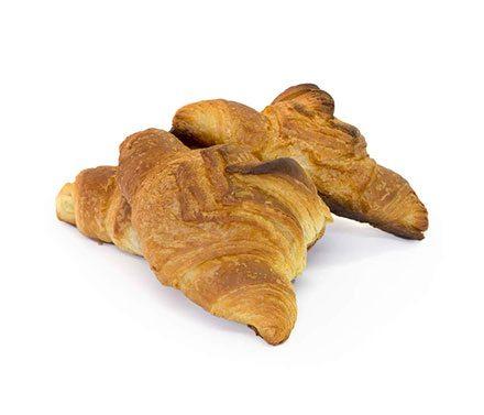 Plain Croissant Viennoiserie Pastries