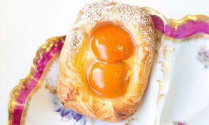 Apricot Danish Viennoiserie Pastries