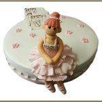 ballerina novelty birthday cakes