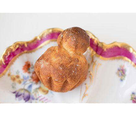 Plain Brioche Viennoiserie Pastries