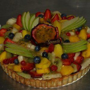 fruit gourmet tart
