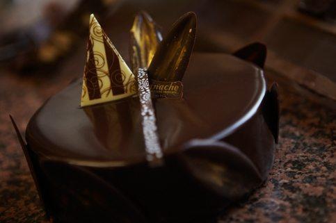 Ganache Chocolate Sponge French Cakes