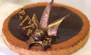 Ganache chocolate gourmet tarts