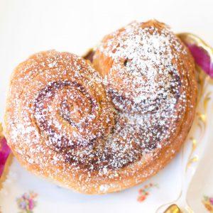 Hazelnut Snail Viennoiserie Pastries