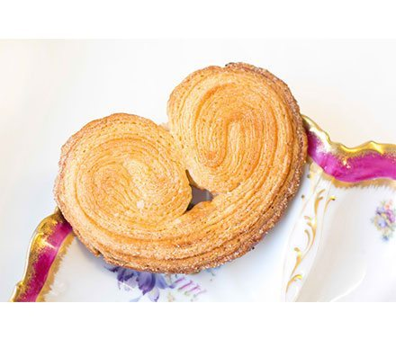 Palmier Viennoiserie Pastries