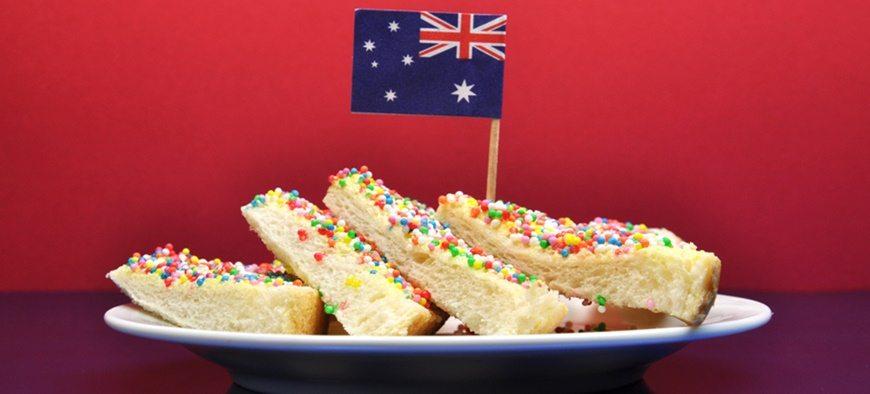 Australian fairy bread history
