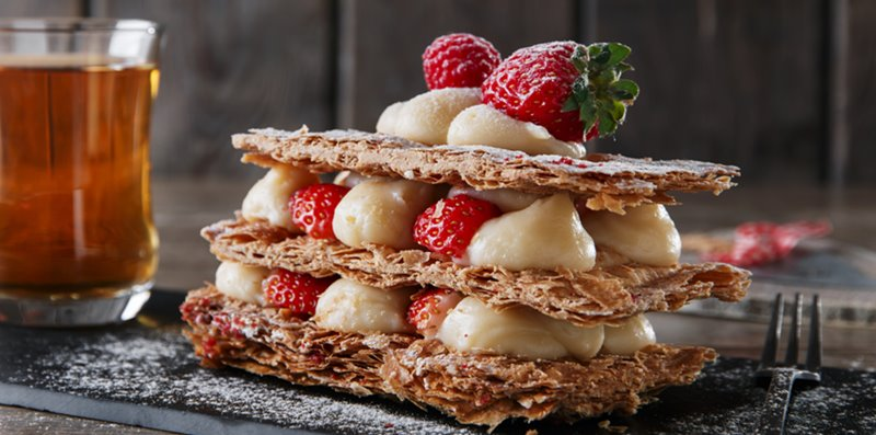 millefeuille pastry